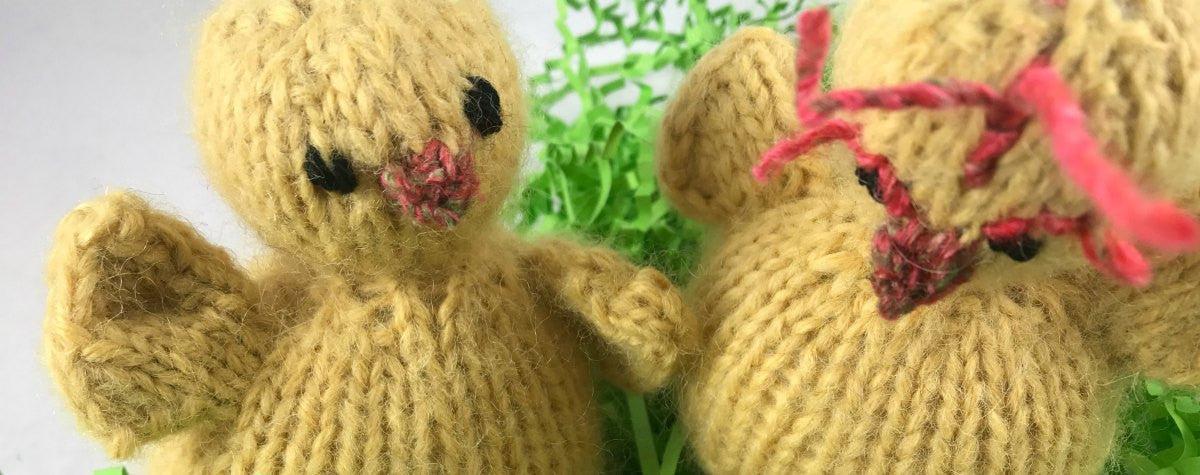Create Knitted Toys: FREE Spring Chick and Nest Pattern (with video)!
