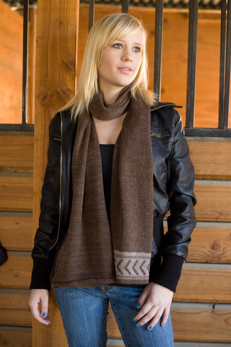 Have you seen our new alpaca scarf collection?