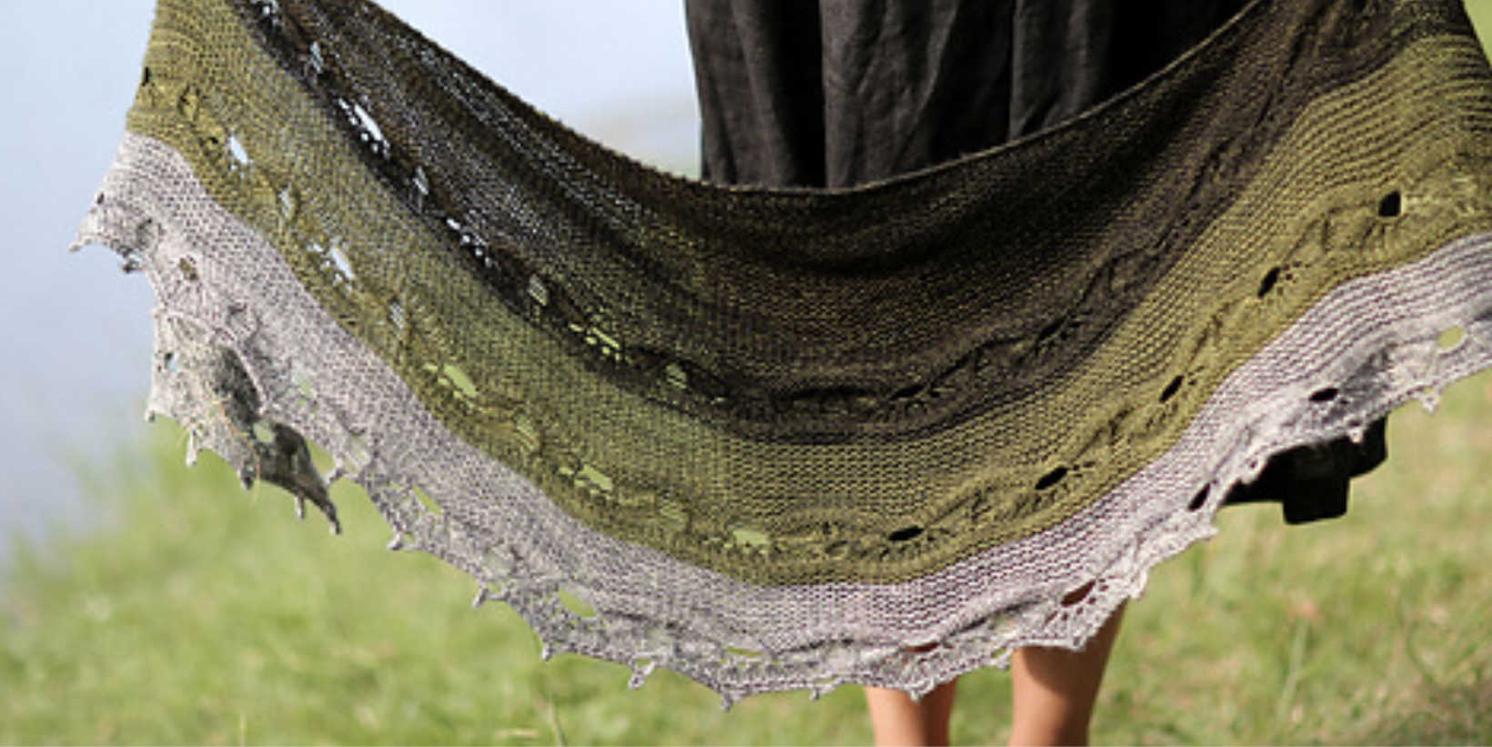Malabrigo Dos Tierras Knit-Along: The Odyssey Shawl