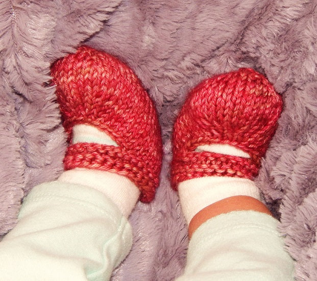 Finish Free Baby Jane Booties