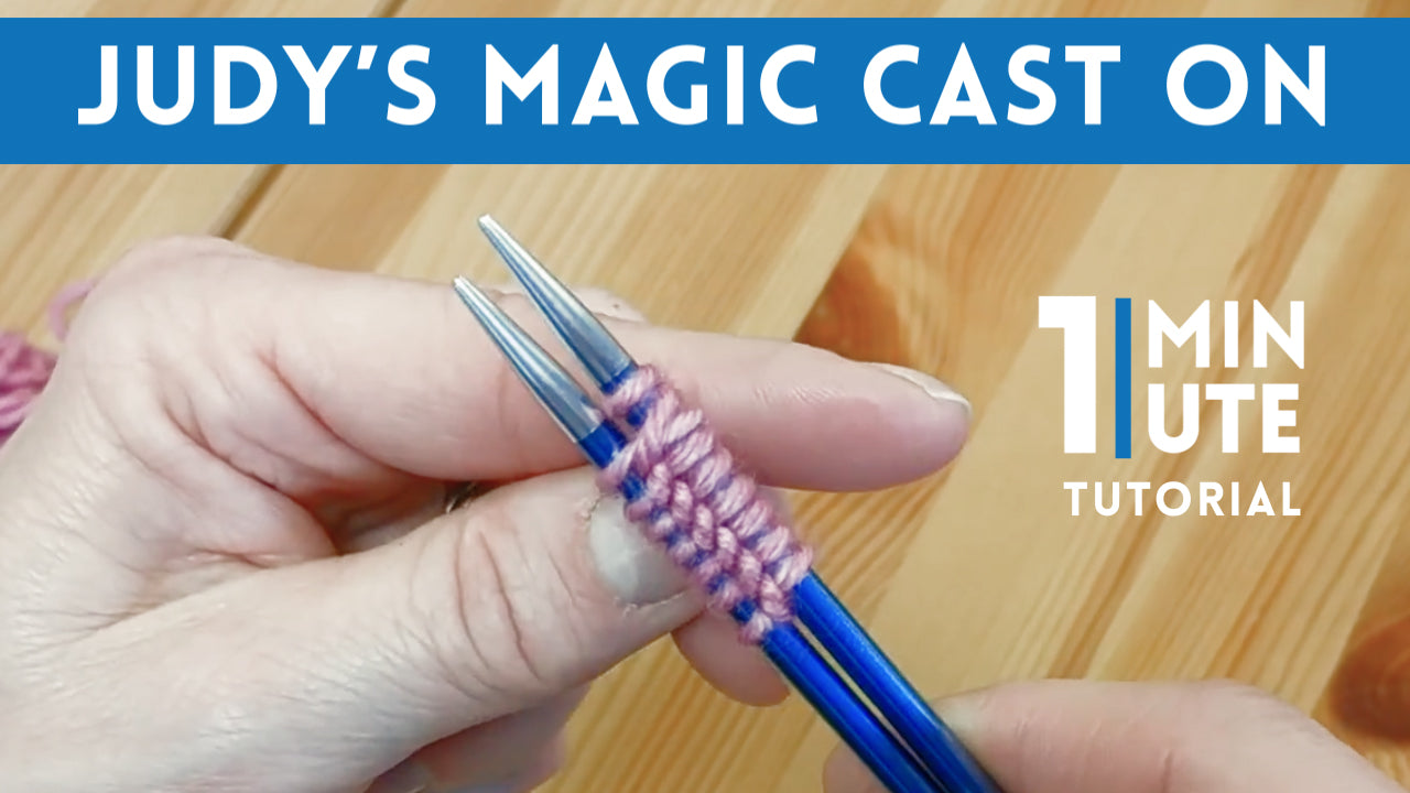 Judy's Magic Cast On