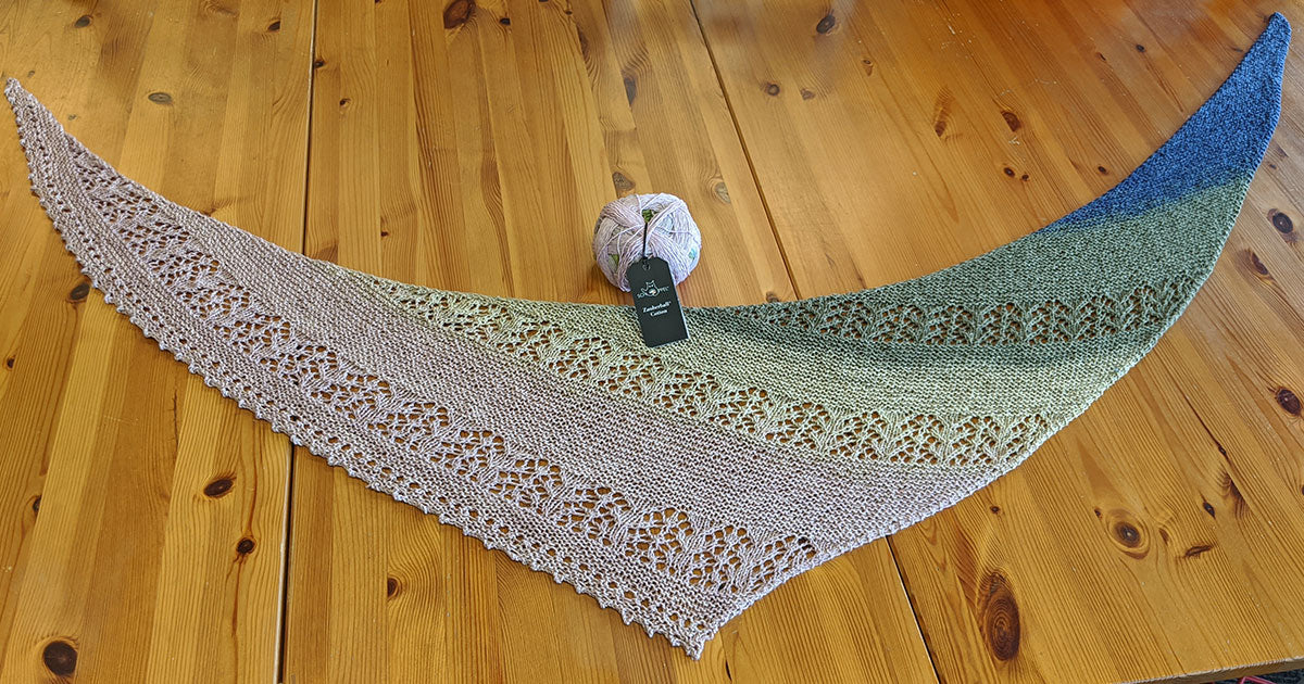 Tips for Knitting the Nurmilintu Lace Shawl by Heidi Alander