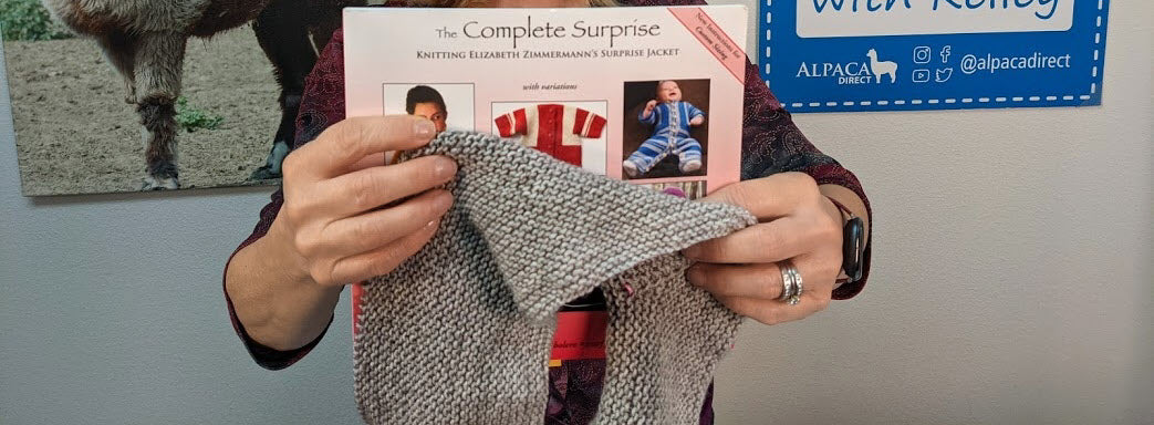 Techniques for Starting the Baby Surprise Jacket by Elizabeth Zimmerman