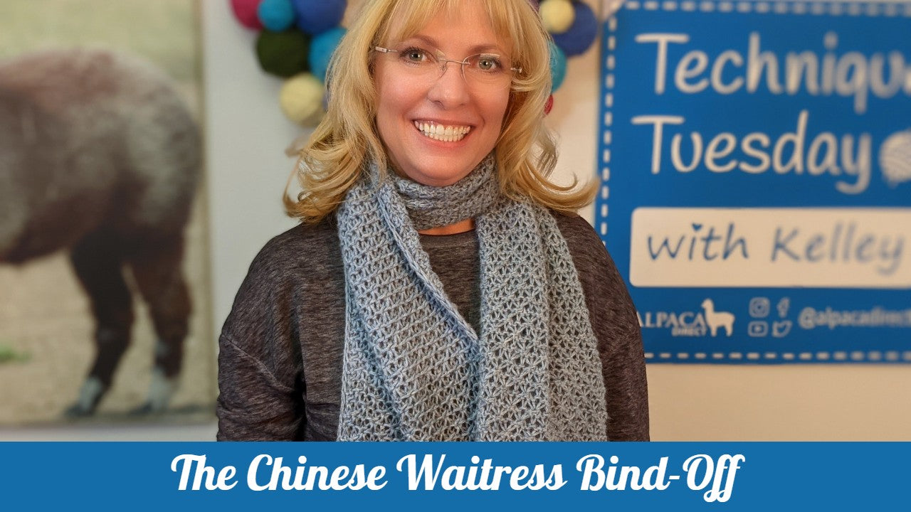 How to Knit the Chinese Waitress Bind-Off
