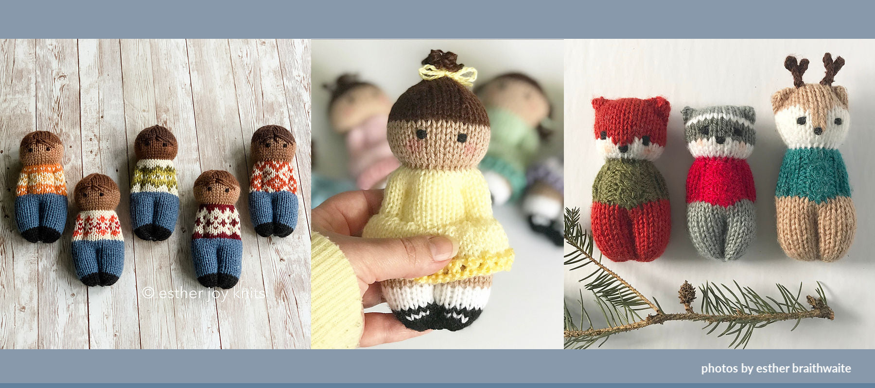 How to Knit Jogless Stripes and Make Izzy Dolls