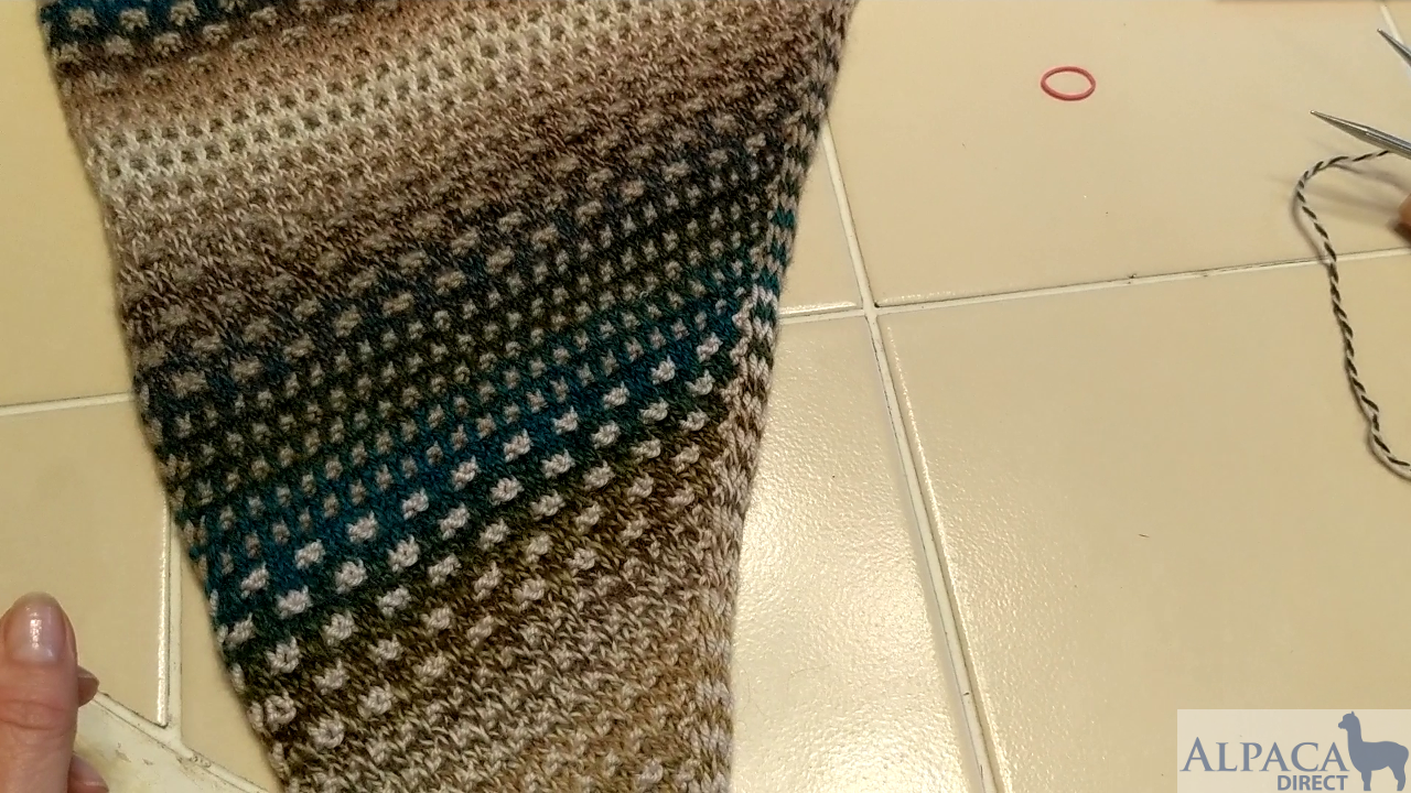 How I Made the Nightshift Shawl by Andrea Mowry