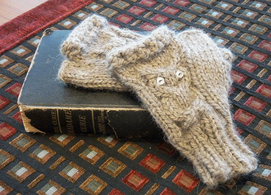 Project Tutorial: How To Create Owl Fingerless Gloves- Free Pattern