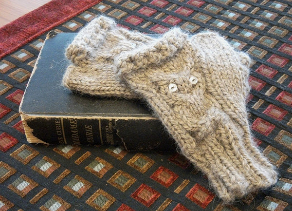 Project Tutorial: How To Create Owl Fingerless Gloves- Free Pattern ...