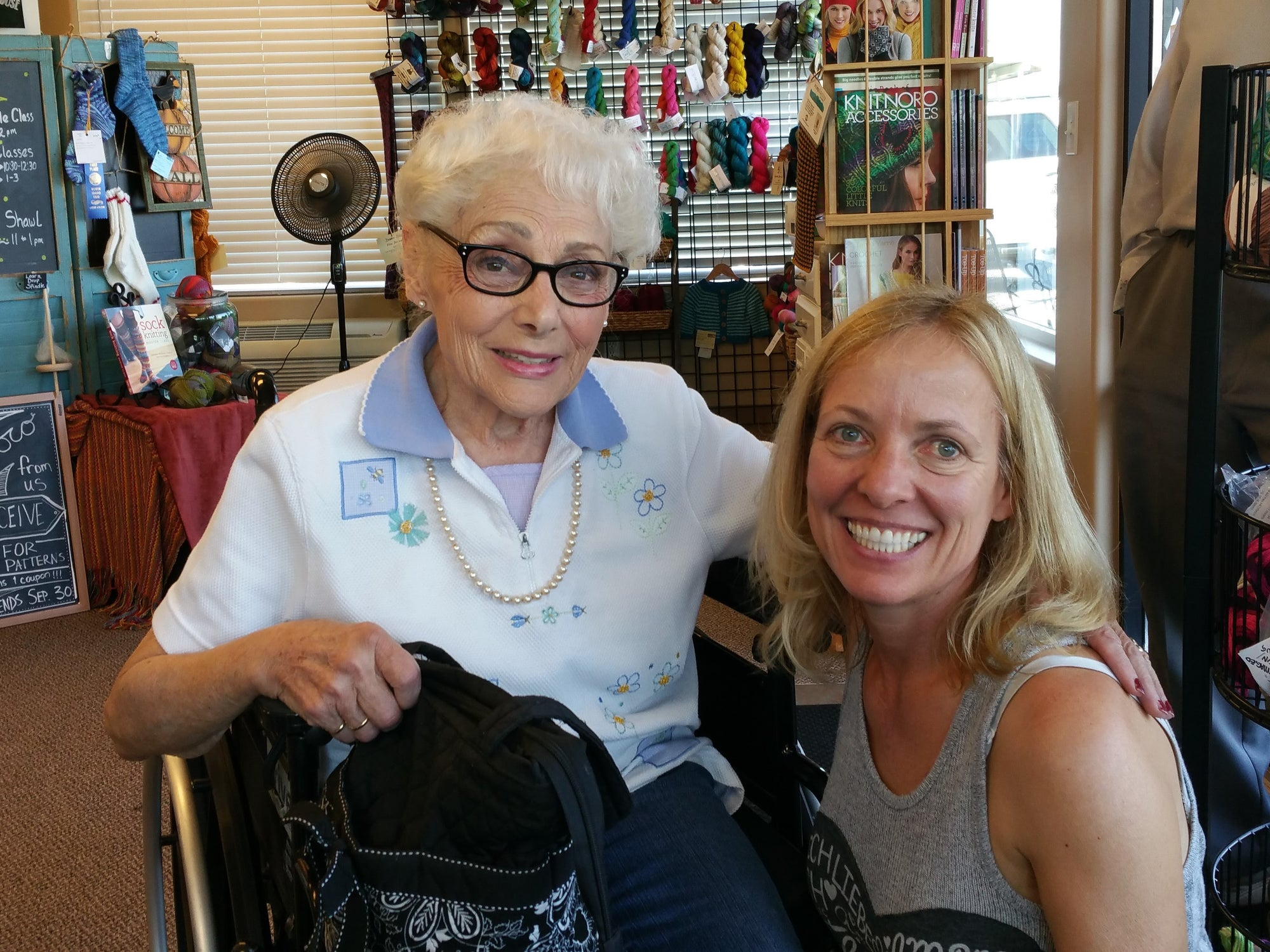 Knitting Helps Mentor a Healthy Lifestyle