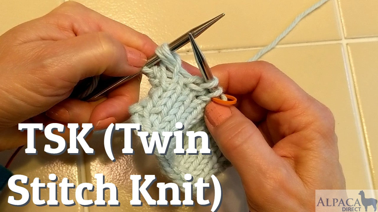 TSK (Twin Stitch Knit) for Perfect Short-Rows—Knitting Tutorial