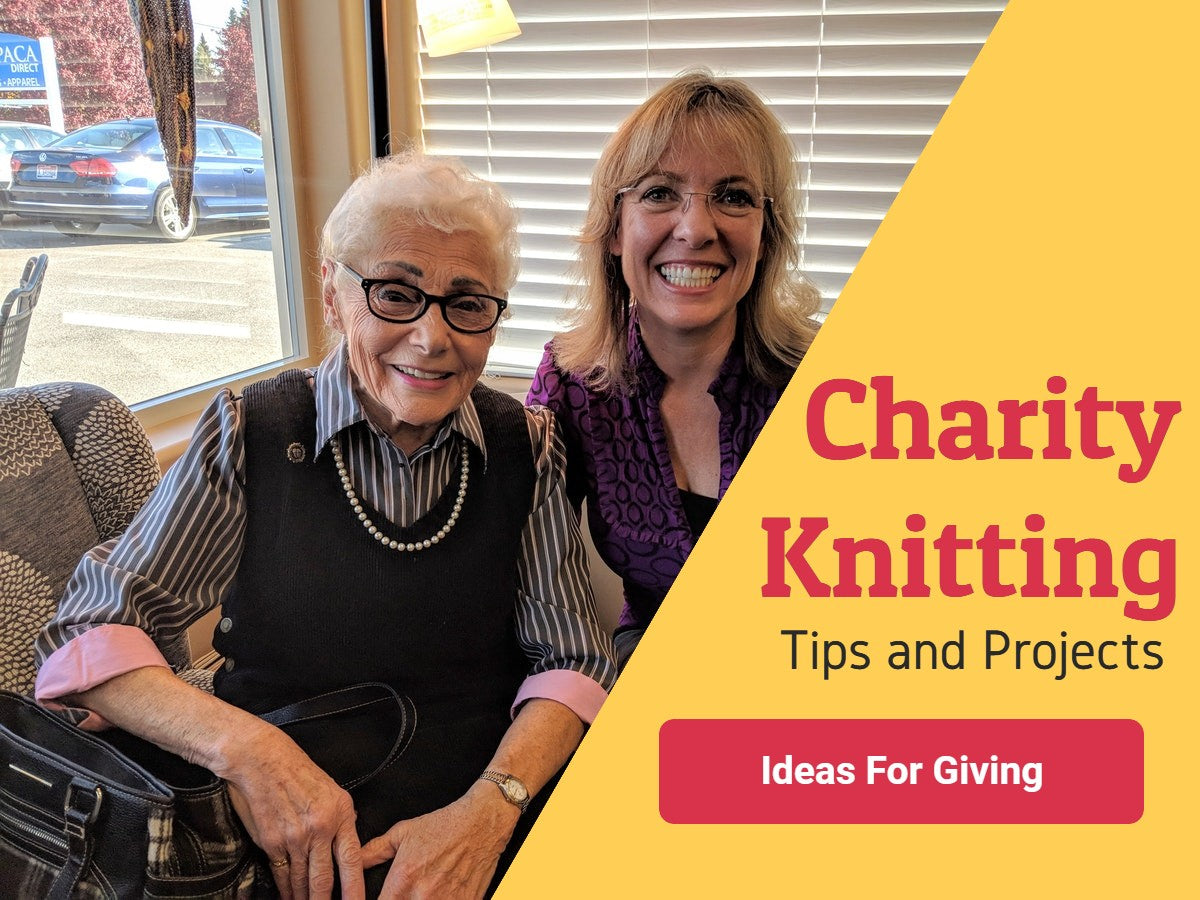 charity knitting