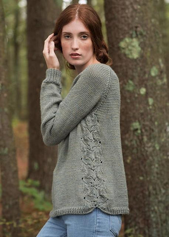 15673d6d1 Wear Fountain with a long skirt or with jeans  it s perfectly at home in any  outfit. I love this for a first sweater project. It s an easy knitting  pattern ...