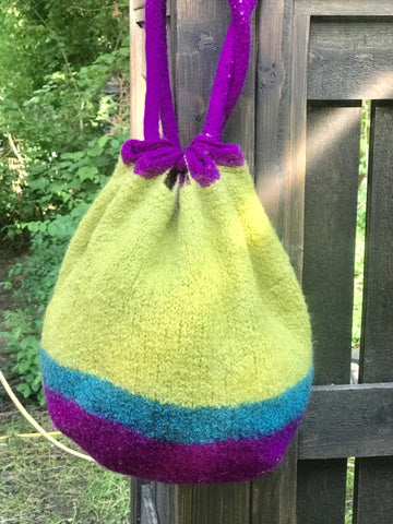 free felted bag pattern