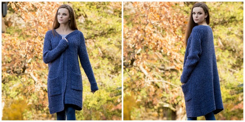Penelope's Cardigan free knitting patterns
