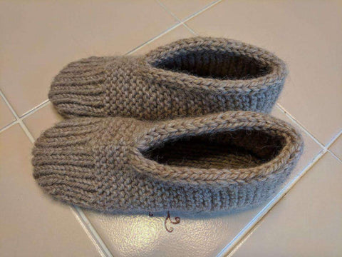 Mrs Hupp's Slipper free knitting pattern