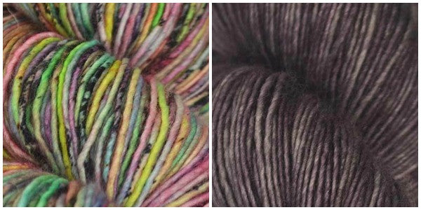 Gorgeous combo of Tosh Merino Light Yarn