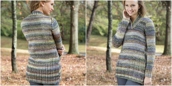 b561637bdc811a This sweater pattern fits many bodies  it s written for bust sizes 33¾