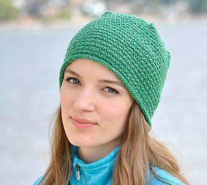 Bristle Cone free hat knitting pattern