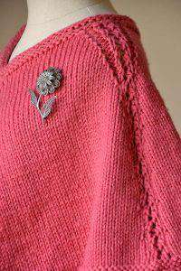 Briar Rose Poncho Designed by Sandi Rosner-Patterns-Universal Yarns-Alpaca Direct