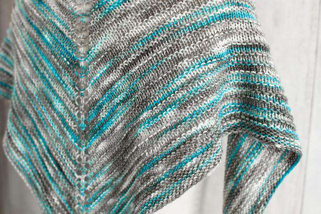 Alegria Shadow Shawl by Fairmount Fibers Design Team-Patterns-Manos del Uruguay-Alpaca Direct