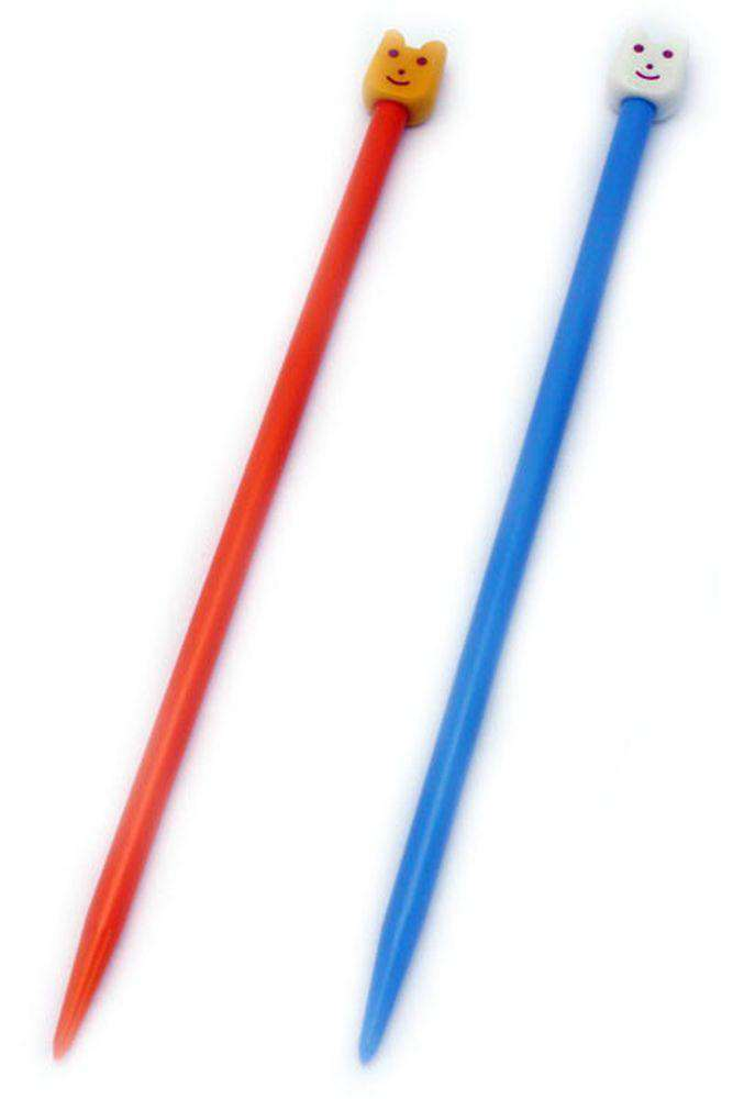 7 Inch Pony Single Point Childrens Knitting Needles-Needles-Bryson-US 09, 5.50 mm-Alpaca Direct