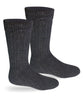 Alpaca Socks | Extreme Winter Boot Socks-Socks-Alpaca Direct-Small-Black-Alpaca Direct