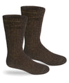 Alpaca Direct Extreme Winter Boot Socks-Socks-Alpaca Direct-Small-Brown-Alpaca Direct