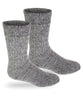 Alpaca Socks | Extreme Winter Boot Socks-Socks-Alpaca Direct-Small-Grey-Alpaca Direct
