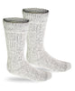 Alpaca Socks | Extreme Winter Boot Socks-Socks-Alpaca Direct-Large-Silver-Alpaca Direct