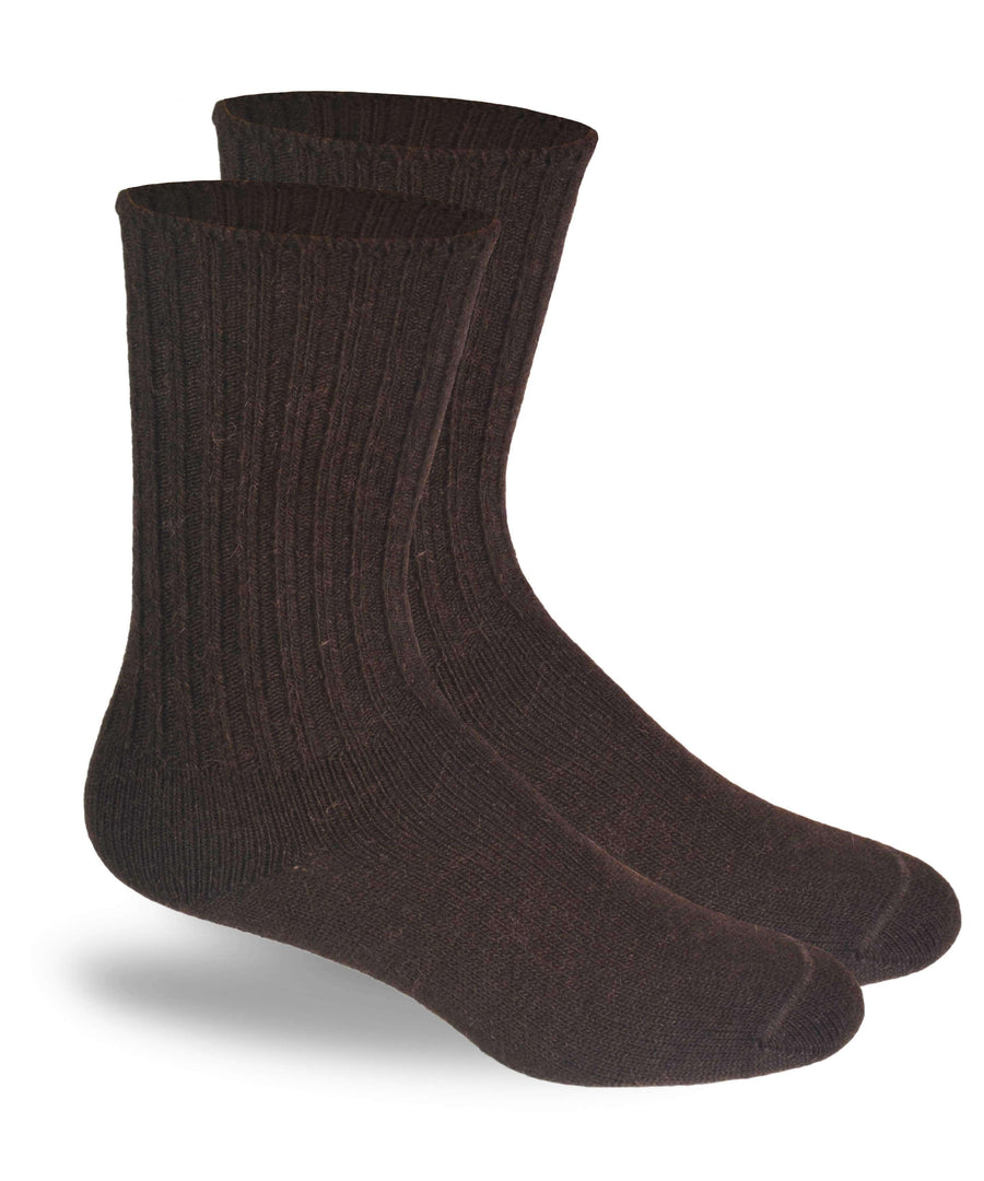 Alpaca Dress Socks-Socks-Alpaca Direct-Medium-Black-Alpaca Direct