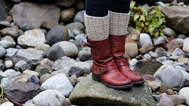 Lacy Boot Cuffs by Betsey Reed *Skacel Pattern*-Patterns-Skacel-Alpaca Direct