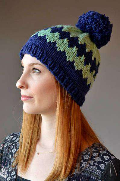 Diamonds Are High by Heather Hill-Patterns-Universal Yarns-Alpaca Direct