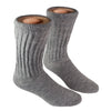 Alpaca Diabetic/Therapeutic Socks-Socks-Alpaca Direct-Small-Grey Heather-Alpaca Direct