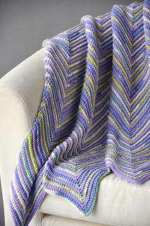 Hills and Valleys Blankie by Universal Yarn-Patterns-Universal Yarns-Alpaca Direct