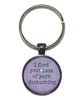 I Find Your Lack Of Yarn Disturbing Keychain-Notions-Alpaca Direct-Purple-Alpaca Direct