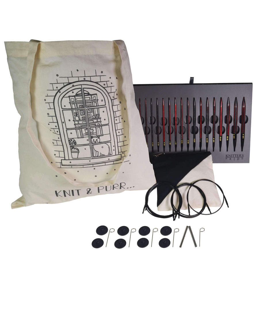 Knitter's Pride Knit & Purr Interchangeable Needle Set