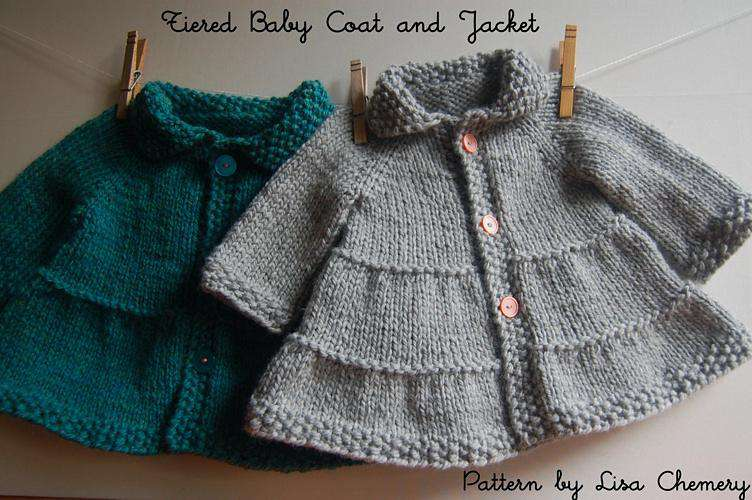 Baby + Toddler Tiered Coat and Jacket by Lisa Chemery