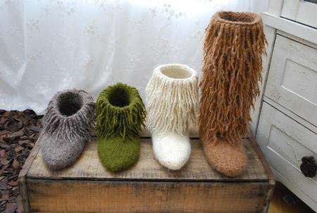 Moonkoosa Boots by Tiny Owl Knits