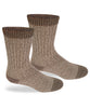Alpaca Outdoorsman Boot Socks-Socks-Alpaca Direct-Extra Large-Brown-Alpaca Direct
