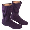 Alpaca Diabetic/Therapeutic Socks-Socks-Alpaca Direct-Small-Purple-Alpaca Direct