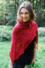 The Red Queen's Shawl by Anna Stasiak-Patterns-Frabjous Fibers-Alpaca Direct