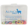 Alpaca Direct 40 Small Rainbow Stitch Markers-Notions-Alpaca Direct-Alpaca Direct