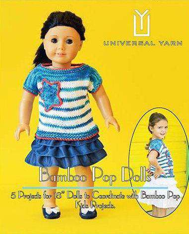 Bamboo Pop Dolls *Universal Pattern*-Patterns-Universal Yarns-Alpaca Direct