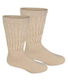 Alpaca Diabetic/Therapeutic Socks-Socks-Alpaca Direct-Large-Beige-Alpaca Direct