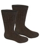 Alpaca Diabetic/Therapeutic Socks-Socks-Alpaca Direct-Small-Brown-Alpaca Direct
