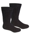 Alpaca Diabetic/Therapeutic Socks-Socks-Alpaca Direct-Small-Charcoal-Alpaca Direct