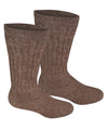 Alpaca Diabetic/Therapeutic Socks-Socks-Alpaca Direct-Large-Cocoa-Alpaca Direct