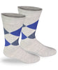 Alpaca Direct Argyle Dress Socks Grey