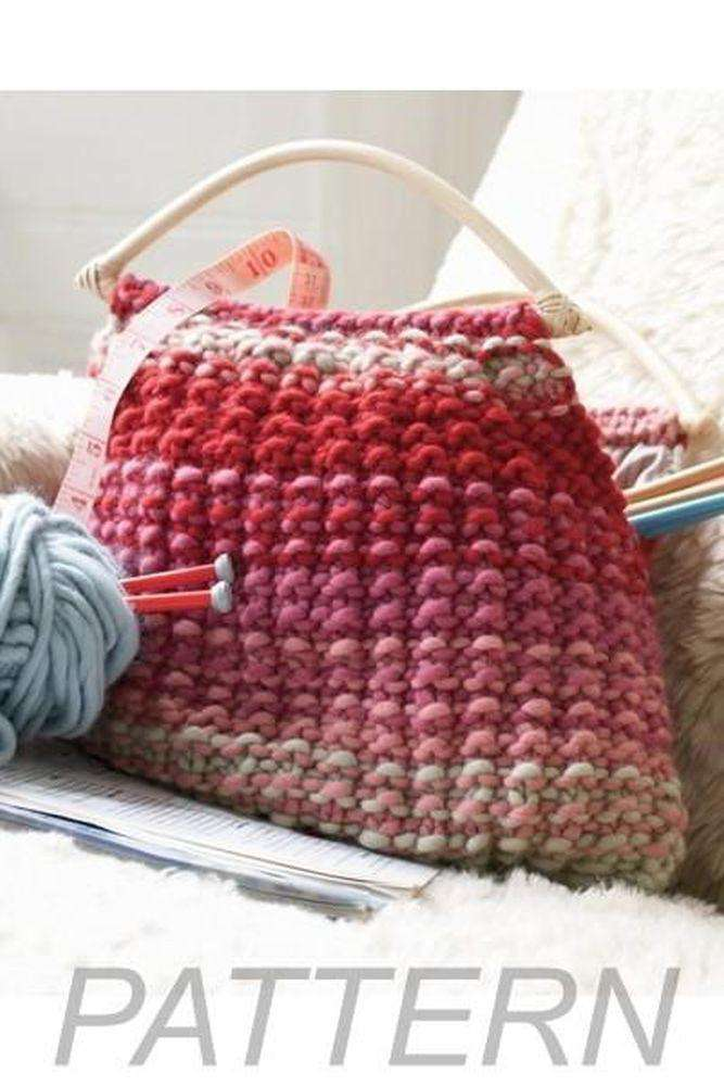 Debbie Bliss Knitting Bag Pattern Only Alpaca Direct