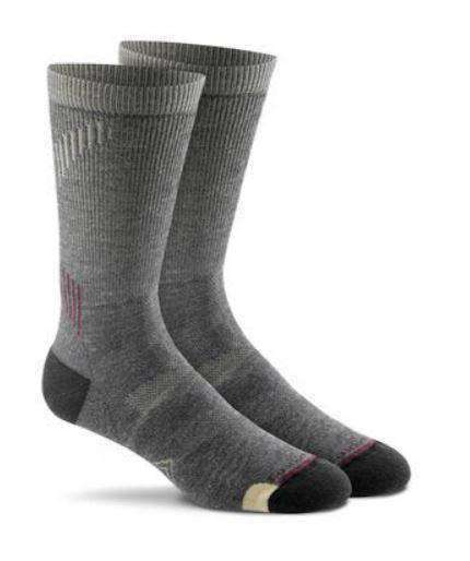 Fox River PrimaHike Crew Socks Merino Wool-Socks-Fox River-Large-Charcoal-Alpaca Direct